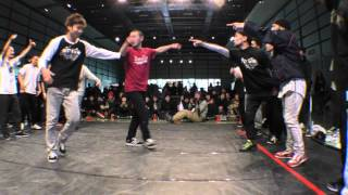ARIYA vs Tokyo Jurassic style BEST16 CREW BATTLE / UK B-BOY CHAMPIONSHIPS JAPAN FINAL 2016