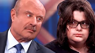 Dr Phil vs 14 Year Old Video Game Addict | React Couch