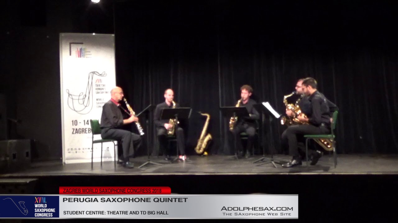 A view from the mountains by Maurizio Bignone   Perugia Saxophone Quintet   XVIII World Sax Congress