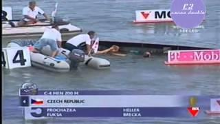 C4 200m men ICF Canoe Sprint World Championships Szeged 2006