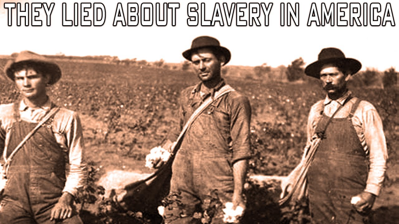 American Slavery Included White People As Slaves With Black Owners