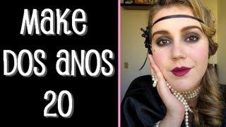 Anos 20 | A Maquiagem ao Longo dos Anos - Bellettato