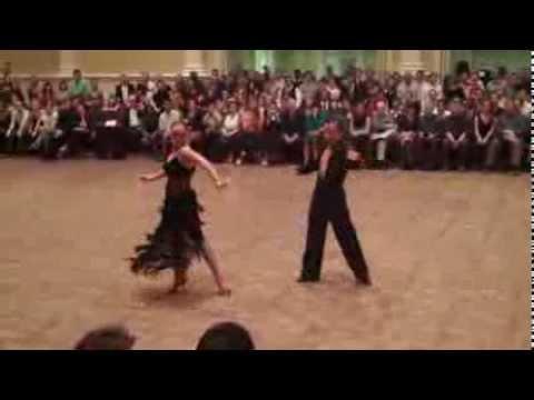 Champ Latin - Mircea & Ana-Maria Cha Cha Show Dance (DCDI 2012)