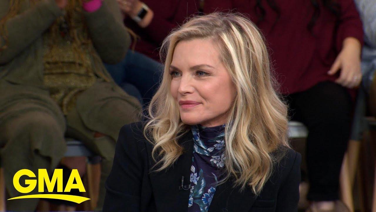 ผลการค้นหารูปภาพสำหรับ 'Maleficent: Mistress of Evil' star Michelle Pfeiffer spills secrets on her new role l GMA