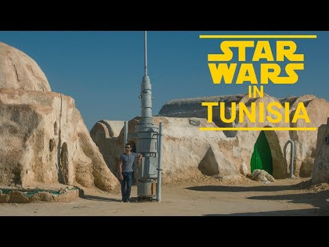 Star Wars in Tunisia! Visiting the planet of Tatooine