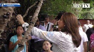 Ministra de vivienda presenta Proyecto Habitacional a Familias de Comunidad El Espino