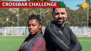 BRASIL VS PORTUGAL - LUDMILA VS BRUNO. Um cross bar challenge com as NEXT GEN WNS PUMA ONE 5.1