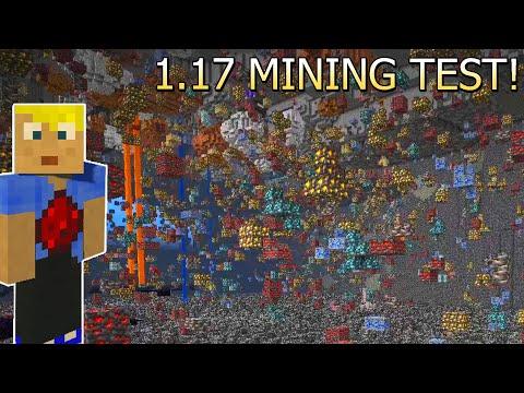 Alles geändert! Zweiter SURVIVAL MINING Test Minecraft 1.17! Beste Höhe für Dias? Snapshot 21w08a