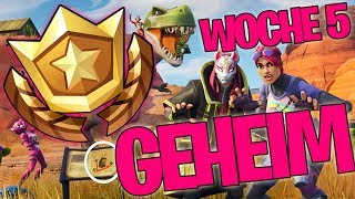 GEHEIMER BATTLE PASS STERN WEEK 5 TEMPORADA 5 X LEVEL UP - FORTNITE BATTLE ROYALE ENGLISH