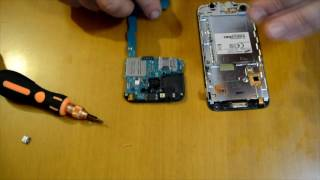sumsung galaxy core plus dissasemply assemply fix charging