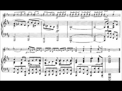 Vivaldi Respighi: Violin Sonata in D Major, RV 10 (A. Brusilovsky)