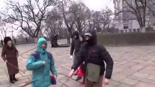 [Kiev] Senior Communists fight back fascist attack