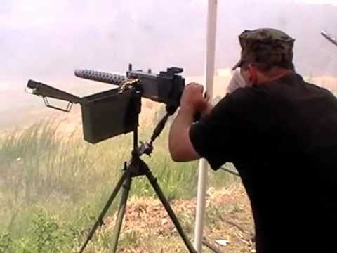 Recording Gun Sound Effects at OFASTS by Sound Ideas