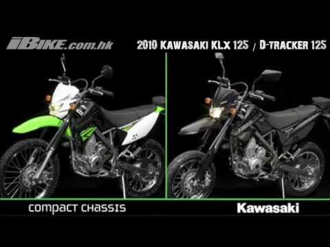 2010 Kawasaki KLX 125 & D-Tracker 125