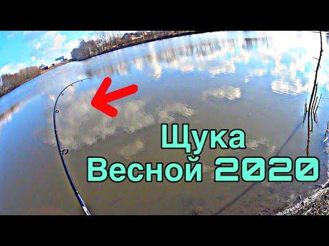 ПЕРВАЯ рыбалка ВЕСНОЙ 2020, ловля на силикон