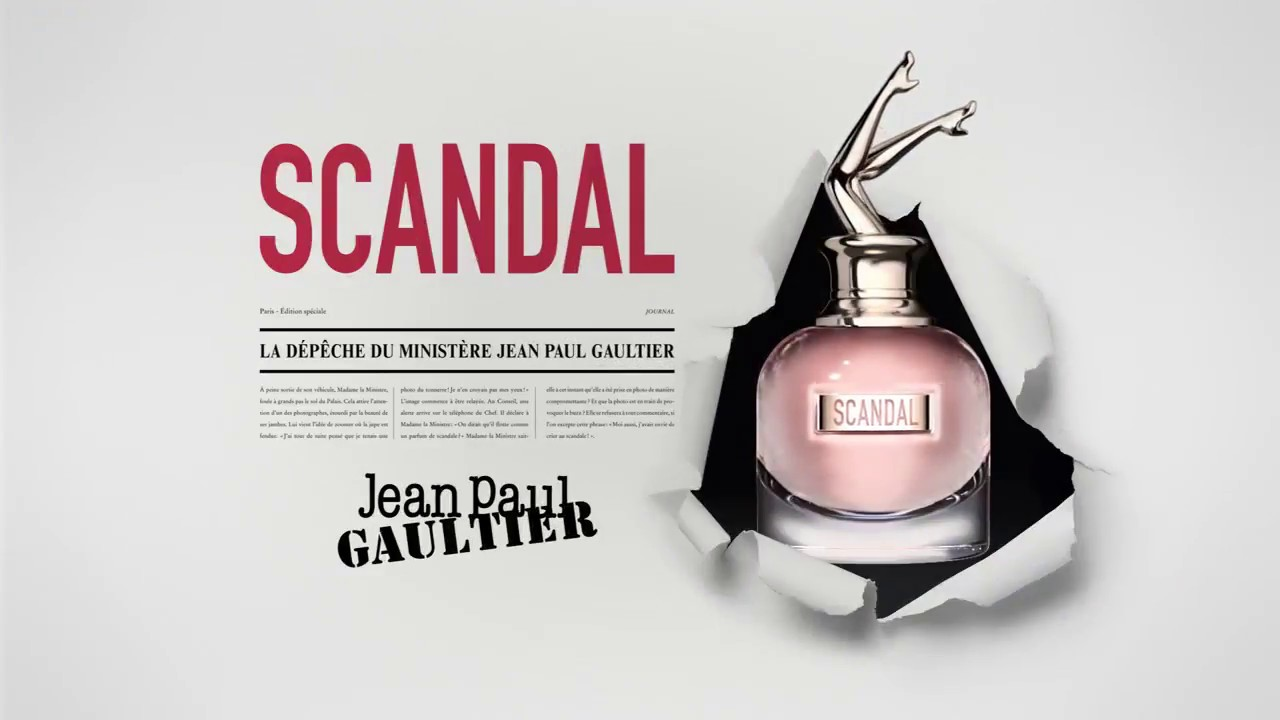 jean paul gaultier parfum scandal youtube