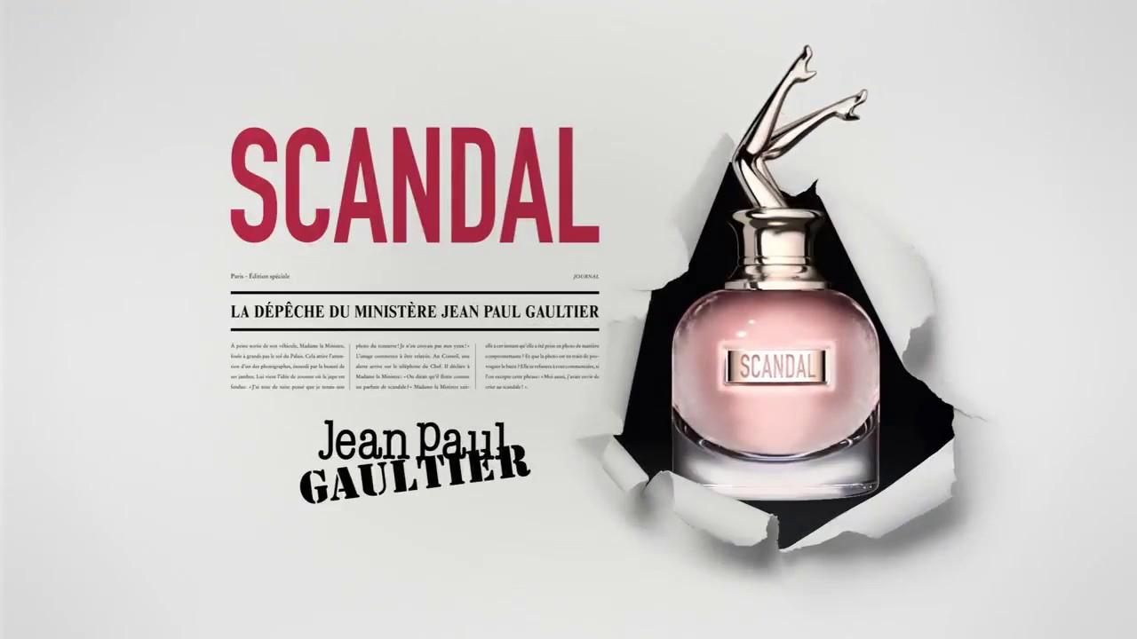 Vidéo Par Jp Gaultier JourParfum Scandal — Leluxeestvivant De Du P80OkXwn