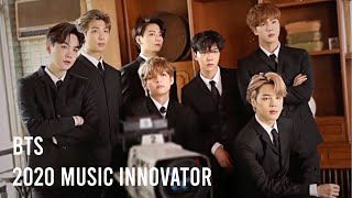Download [Eng Sub] BTS Receives WSJ. Magazine's 2020 Music Innovator Award
