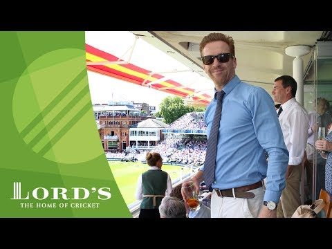 Damian Lewis at the cricket  England vs South Africa  MCCLord's
