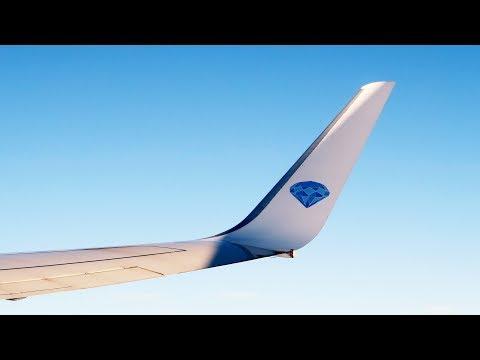 Перелет Москва - Новосибирск на Boeing 737-800 а/к Алроса