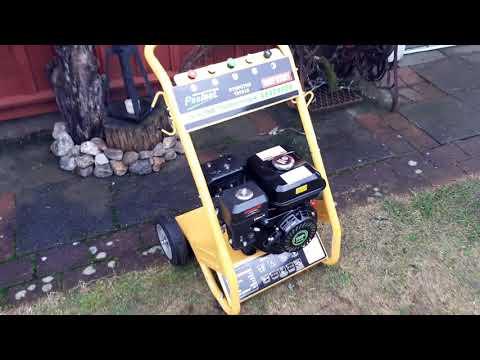 7 hp pressure washer first start