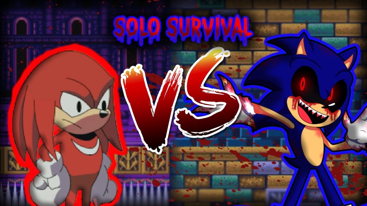 Sonic exe: The Spirits of Hell | Knuckles [SOLO SURVIVAL]