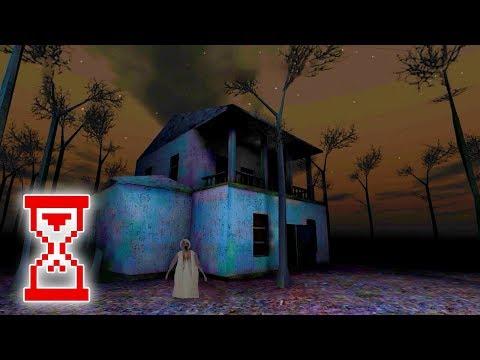 Slenderina: The Forest Ужасная бабка и слендерина гоняются за мной