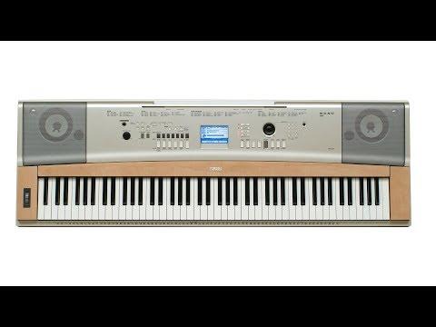 Yamaha YPG-635 All Demo Songs