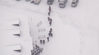 草津国際スキー場で捜索開始 thumbnail