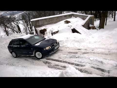 Audi quattro with ESP and ESP off