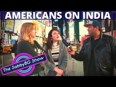 What AMERICANS know of INDIA - The QUIZ | Americans on India