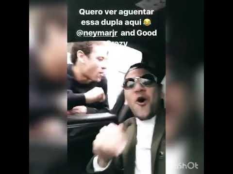 """Story Daniel Alves com Neymar """"Tá descendo torto subindo empinado""""😂🎶"""