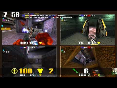 Quake 3 CPMA: QNC 09 TDM - France vs Sweden - Deep Inside (OSPDM5)