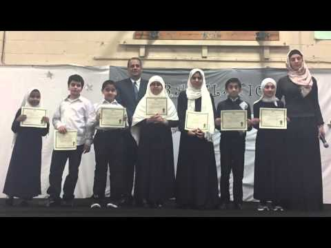 Andalusia School - 1st Semester Award Ceremony - 2015/2016