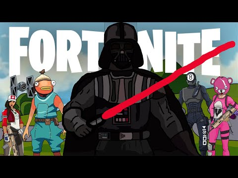 Darth Vader Takes Over Fortnite, #Animation #Animated
