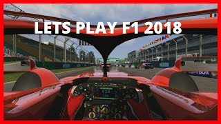 F1 2018 Game PC - Assetto Corsa - Australian Grand Prix Gameplay HD [Ferrari]