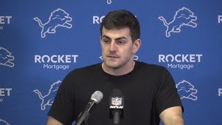 David Blough Wants To Work on Improving Communication | Detroit Lions