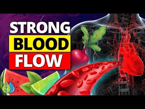 ❣️Top 11 Foods to Strengthen Blood Flow (boost 1 molecule)