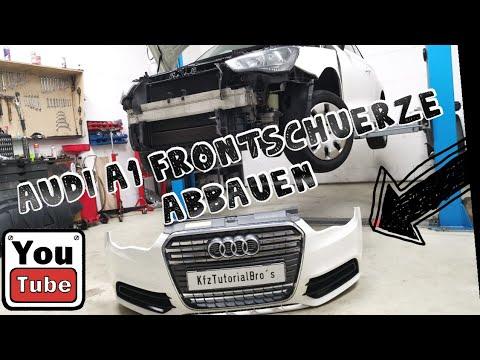 Audi A1 8x Stossstange Stossfanger Vorne Ausbauen Remove Replace Front Bumper