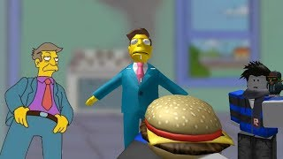 Steamed Hams but it's a weapon on roblox (SHOWCASE)