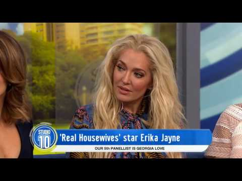 Erika Jayne Talks 'The Real Housewives of Beverly Hills' | Studio 10
