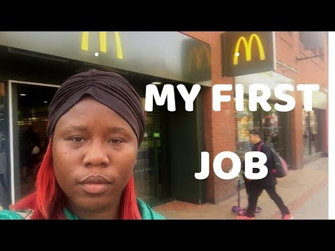 VLOG 68 .............. MY FIRST JOB IN THE UK