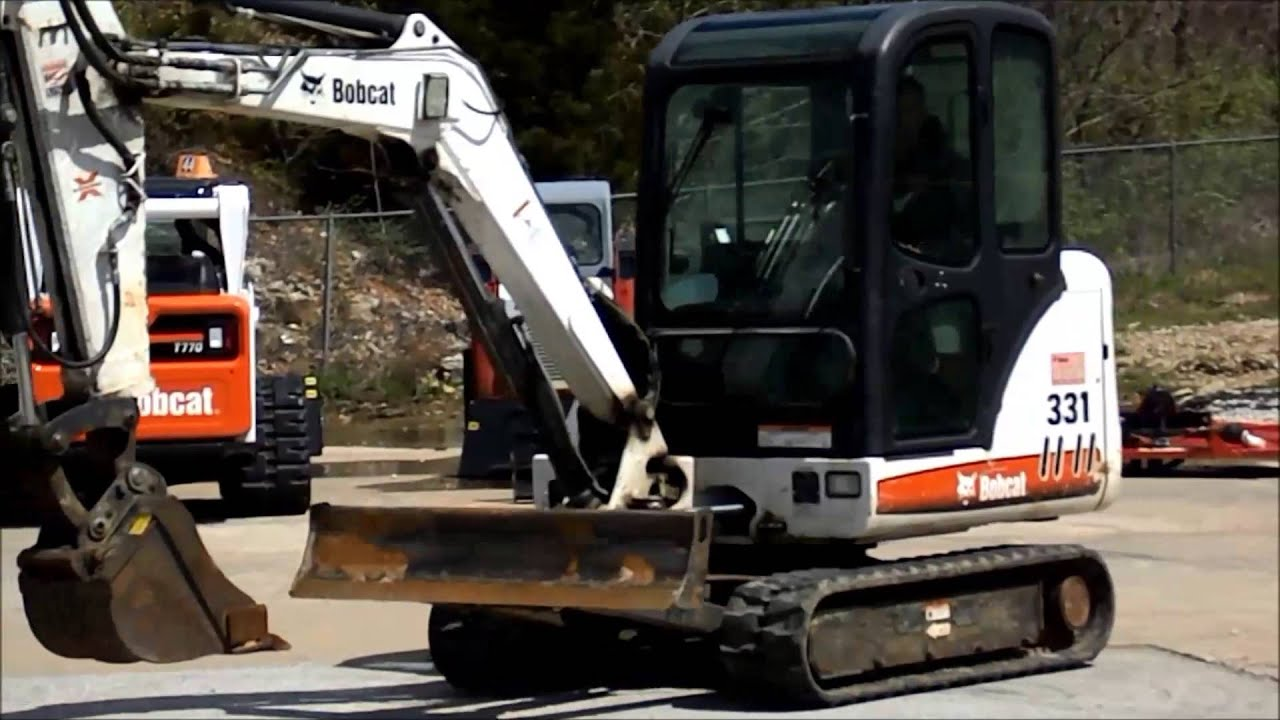 For Sale: 2008 Bobcat 331 - YouTube