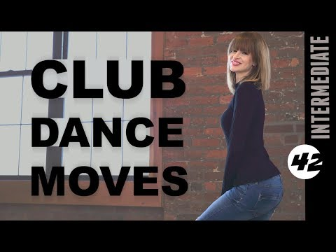 Club Dance Moves Tutorial For Beginners Part 42: Pelvis Scoop