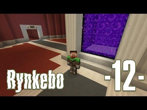 Dansk Minecraft - Rynkebo #12 - Netherhub og farme status (HD)