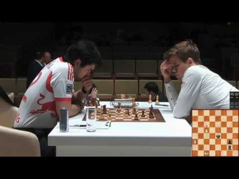 ♚ GM Hikaru Nakamura vs GM Magnus Carlsen Gashimov Memorial 2014