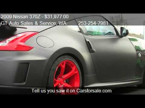 2009 nissan 370z nismo coupe for sale in tacoma wa 98409 at youtube. Black Bedroom Furniture Sets. Home Design Ideas
