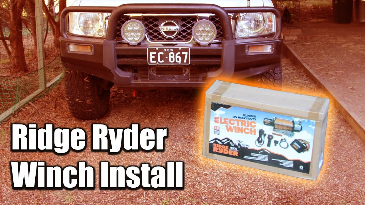 How to install a ridge ryder winch youtube how to install a ridge ryder winch publicscrutiny Images