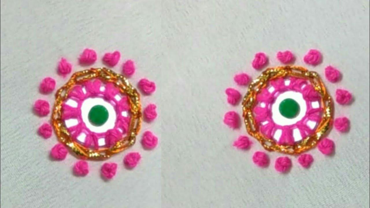 Gota embroidery | gota mirror work | mirror work