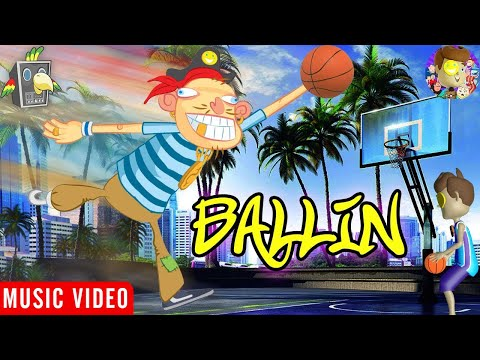 Ballin' 🎵 Raptain Hook (Hip Hop Animation Of The Adventures Of FUNnel Boy)